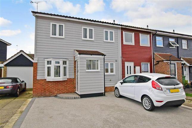 Thumbnail End terrace house for sale in Soane Street, Basildon, Essex