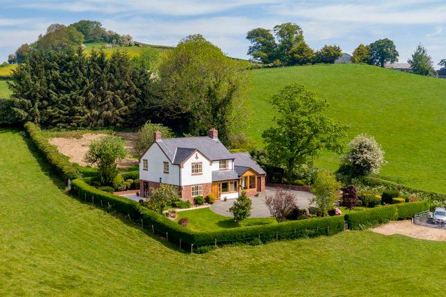 Thumbnail Detached house for sale in Dol Y Neuadd, Cyfronydd, Welshpool