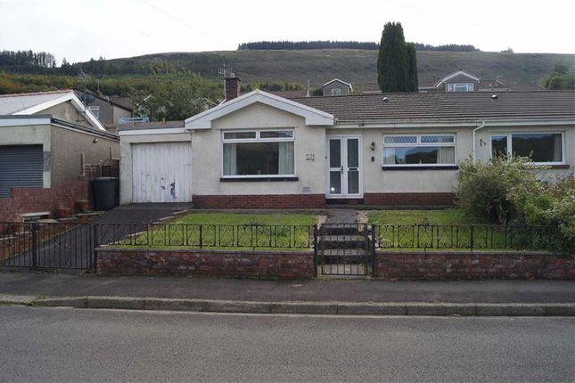 Thumbnail Semi-detached bungalow for sale in Glenbrook, Mountain Ash