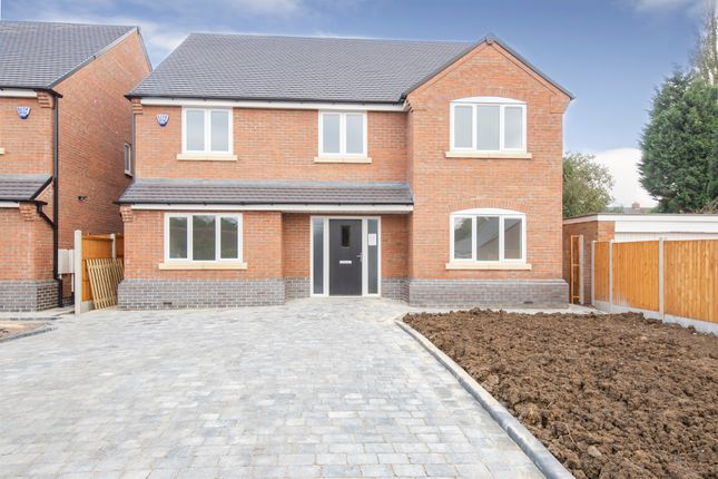 Thumbnail Detached house for sale in Harborough Road, Oadby, Leicester