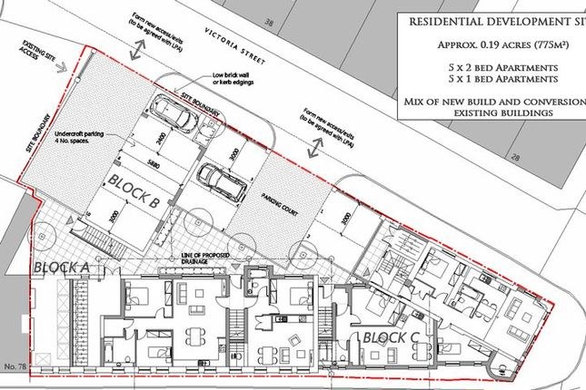 Thumbnail Land for sale in Victoria Street, Cwmbran