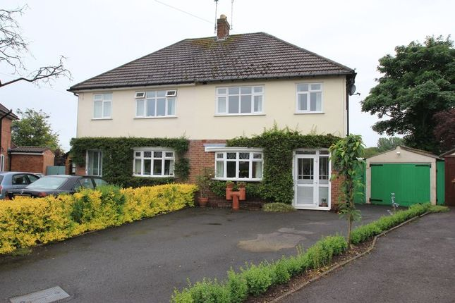 Thumbnail Semi-detached house for sale in Chase Crescent, Brocton, Stafford.