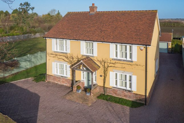 Thumbnail Detached house for sale in Preston St. Mary, Sudbury, Suffolk