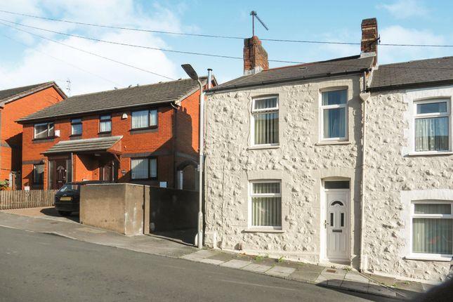 Thumbnail End terrace house for sale in John Street, Barry