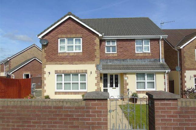 Thumbnail Detached house for sale in Maes Y Bryn, Bryn, Llanelli