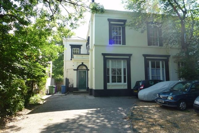 Thumbnail Flat to rent in Grove Park, Sefton Park, Liverpool