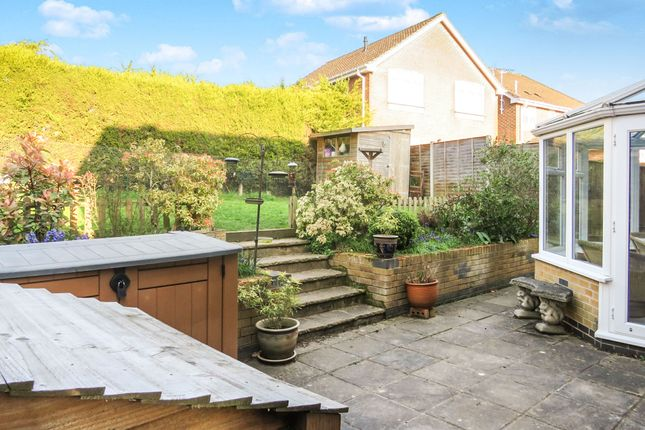 Rear Garden of Olympic Way, Fair Oak, Eastleigh SO50