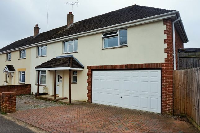 Thumbnail Semi-detached house for sale in Pinewood Road, Poole