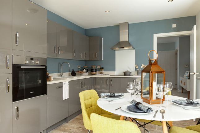 "Thumbnail Semi-detached house for sale in ""The Chastleton"" at Stocks Lane, Winslow, Buckingham"