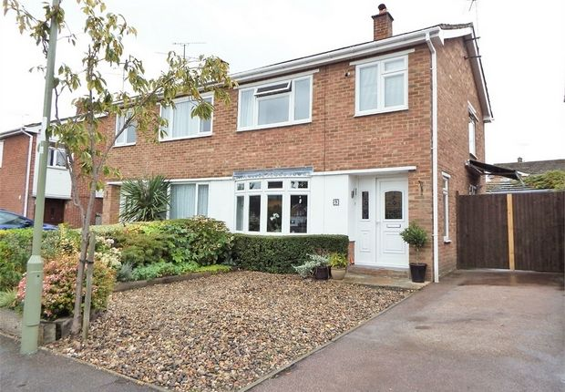 Thumbnail Semi-detached house for sale in Wayman Road, Farnborough, Hampshire