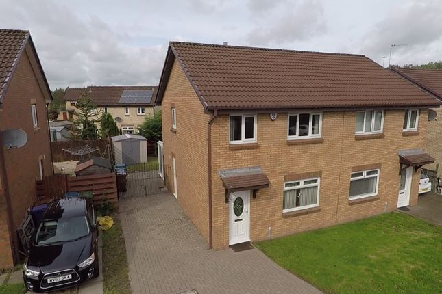 Thumbnail Semi-detached house for sale in Rhindmuir Crescent, Swinton, Baillieston