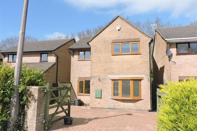 Thumbnail Detached house for sale in Taliesin Place, Loughor, Swansea
