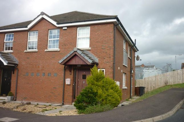 Thumbnail Semi-detached house to rent in Larksborough Close, Newtownards