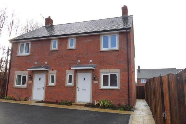 Thumbnail Semi-detached house to rent in Diamond Way, Blandford Forum, Dorset