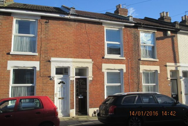 Thumbnail Terraced house to rent in Londesborough Road, Southsea