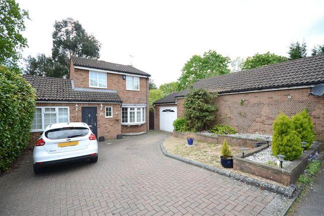 Thumbnail Detached house for sale in Mulberry Close, Heath Park, Sandhurst