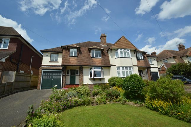Thumbnail Semi-detached house to rent in Newlands Road, Southborough, Tunbridge Wells