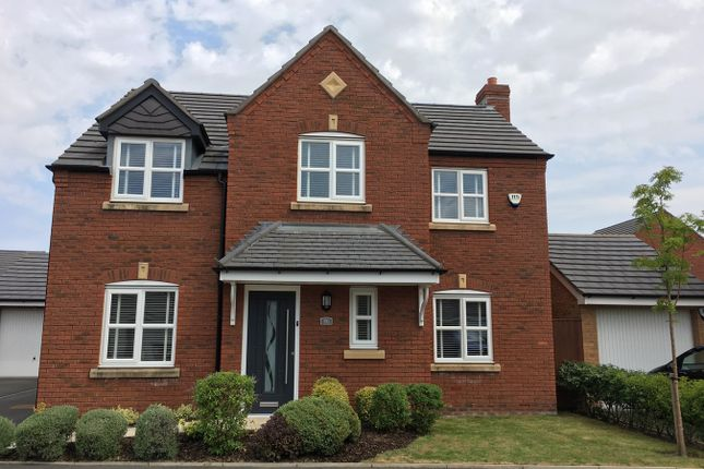 Thumbnail Detached house for sale in Linby Way, St Helens