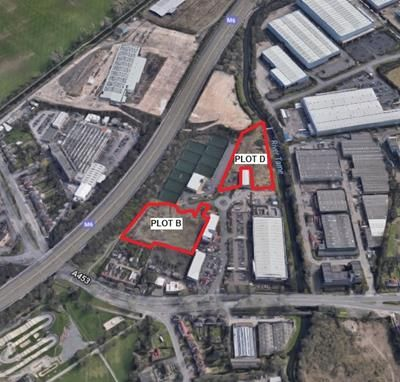Thumbnail Land to let in Plots B & D, Tameside Business Park, Tameside Way, Perry Barr, Birmingham