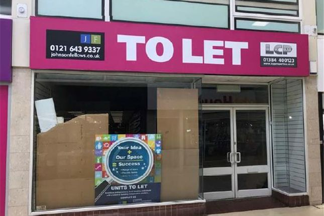 Thumbnail Retail premises to let in Unit 14, Churchill Shopping Centre, Dudley, West Midlands, UK
