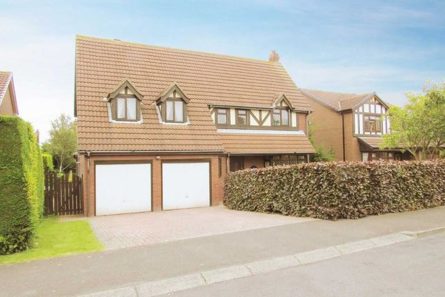 Thumbnail Detached house for sale in Sandford Avenue, Cramlington