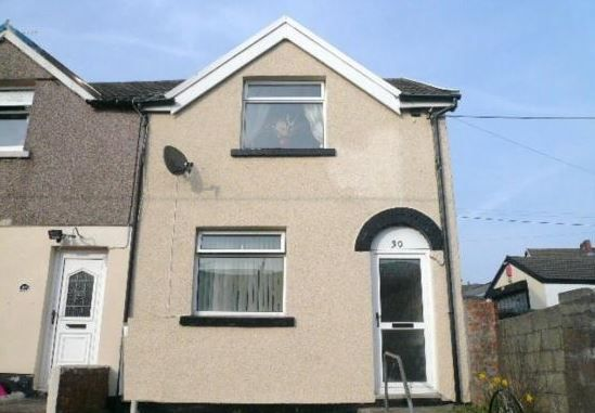 Thumbnail End terrace house for sale in King Street, Pant, Merthyr Tydfil