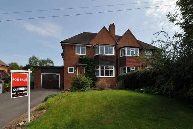 Thumbnail Semi-detached house for sale in Knighton Road, Bournville Village Trust, Northfield