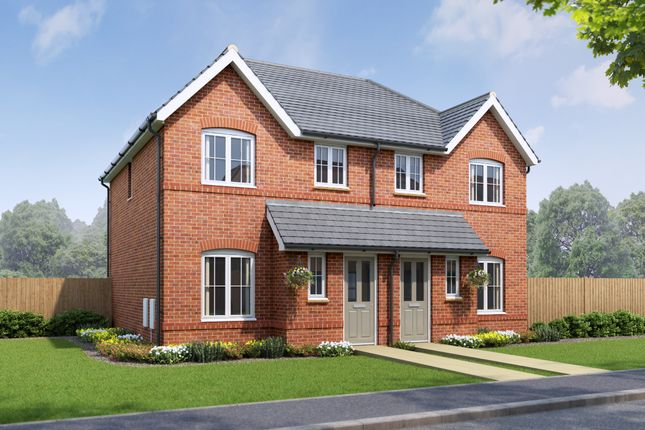 Thumbnail Mews house for sale in 3Bw, Ellesmere Port