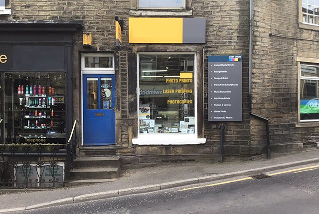 Thumbnail Retail premises for sale in 26 Huddersfield Road, Holmfirth