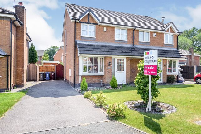 Thumbnail Semi-detached house for sale in The Cobbles, Halewood, Liverpool