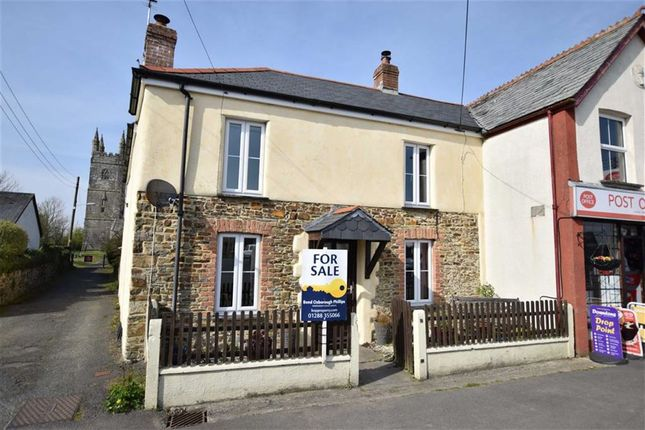 Thumbnail Semi-detached house for sale in Week St. Mary, Holsworthy