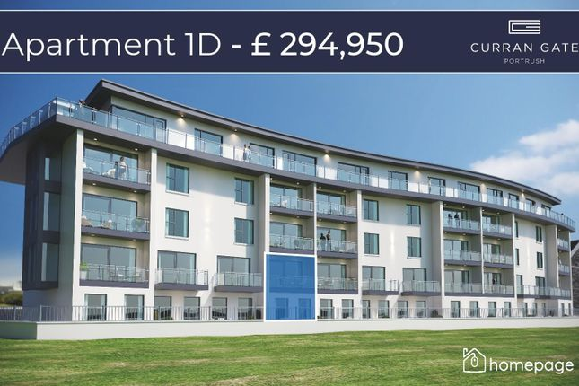 Thumbnail 3 bedroom property for sale in Duplex - Type D, Curran Gate, Portrush