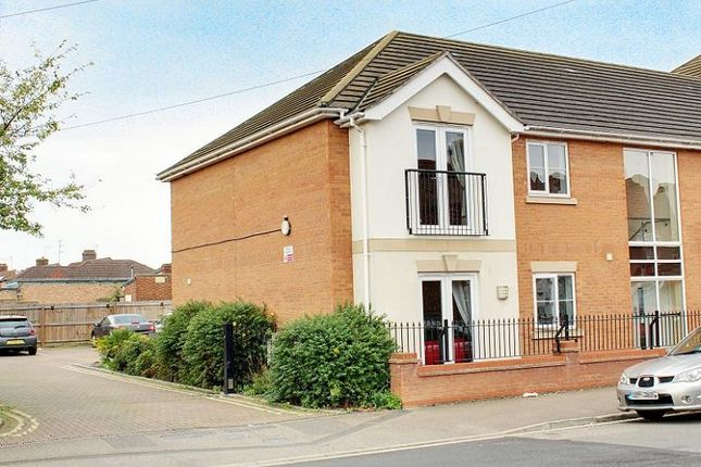 Thumbnail Flat to rent in Peveril Road, Peterborough