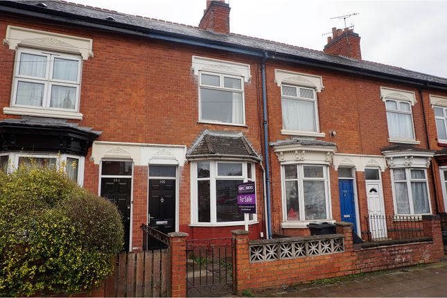 Thumbnail Terraced house for sale in Fosse Road North, Leicester