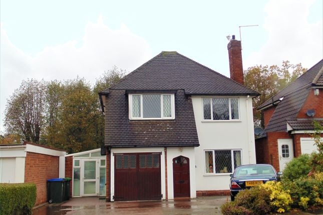 Thumbnail Detached house for sale in Grove Vale Avenue, Great Barr