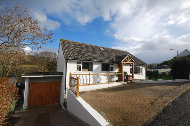 Detached bungalow for sale in Lower Gurnick Road, Newlyn, Penzance
