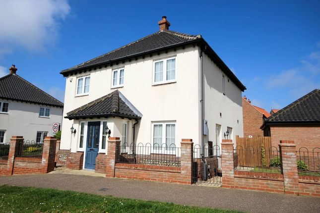 Thumbnail Detached house for sale in Waters Lane, Hemsby, Great Yarmouth