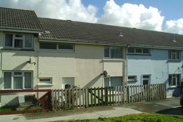 Thumbnail Terraced house to rent in Moyses Meadow, Okehampton