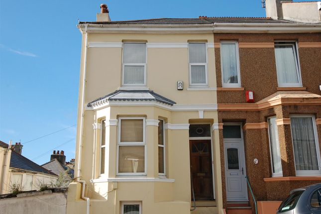 Thumbnail End terrace house for sale in Cotehele Avenue, Keyham, Plymouth