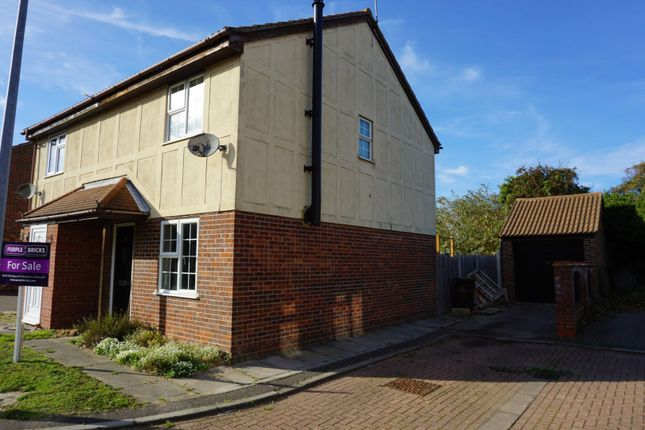 Thumbnail Semi-detached house for sale in Siena Mews, Colchester