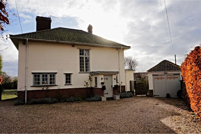 Thumbnail Detached house for sale in The Causeway, Hitcham