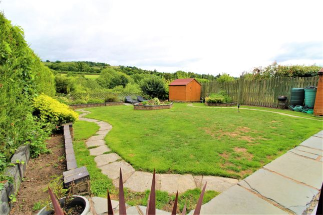 Garden of County Road, Leeswood CH7