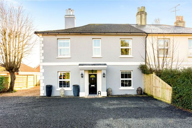Thumbnail Semi-detached house for sale in Junction Road, Burgess Hill, West Sussex