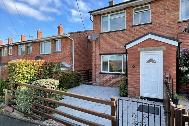 Thumbnail End terrace house for sale in Maesydre, Llanidloes, Powys