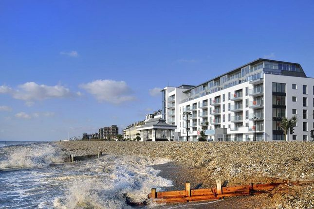 Thumbnail Flat for sale in The Beach Residences, Marine Parade, Worthing, West Sussex