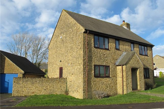 Thumbnail Detached house for sale in The Paddocks, Mosterton, Beaminster, Dorset
