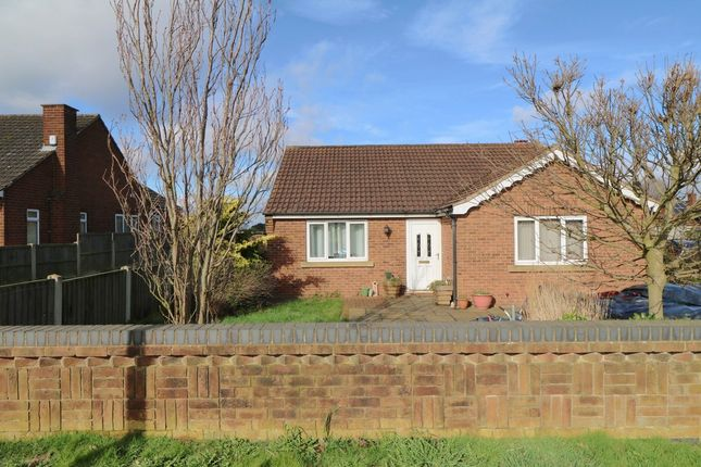 Thumbnail Detached bungalow for sale in Godnow Road, Crowle, Scunthorpe