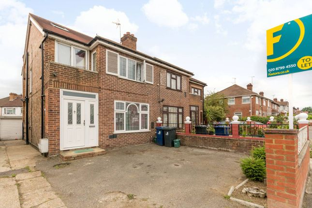 Thumbnail Property to rent in Leaver Gardens, Perivale, Greenford