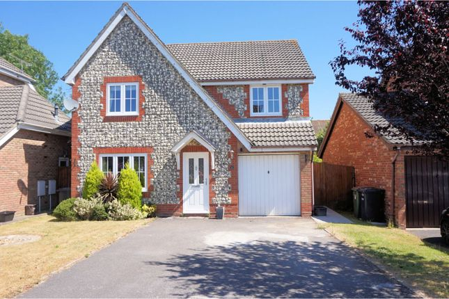Thumbnail Detached house for sale in Stowe Close, Grange Park, Hedge End, Southampton