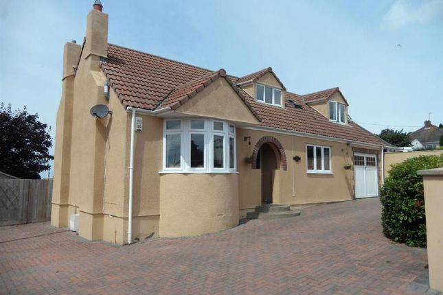 Thumbnail Detached bungalow for sale in Hillcote, Bleadon Hill, Weston-Super-Mare